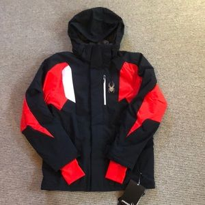 Spyder winter ski jacket. Men's small. NWT.
